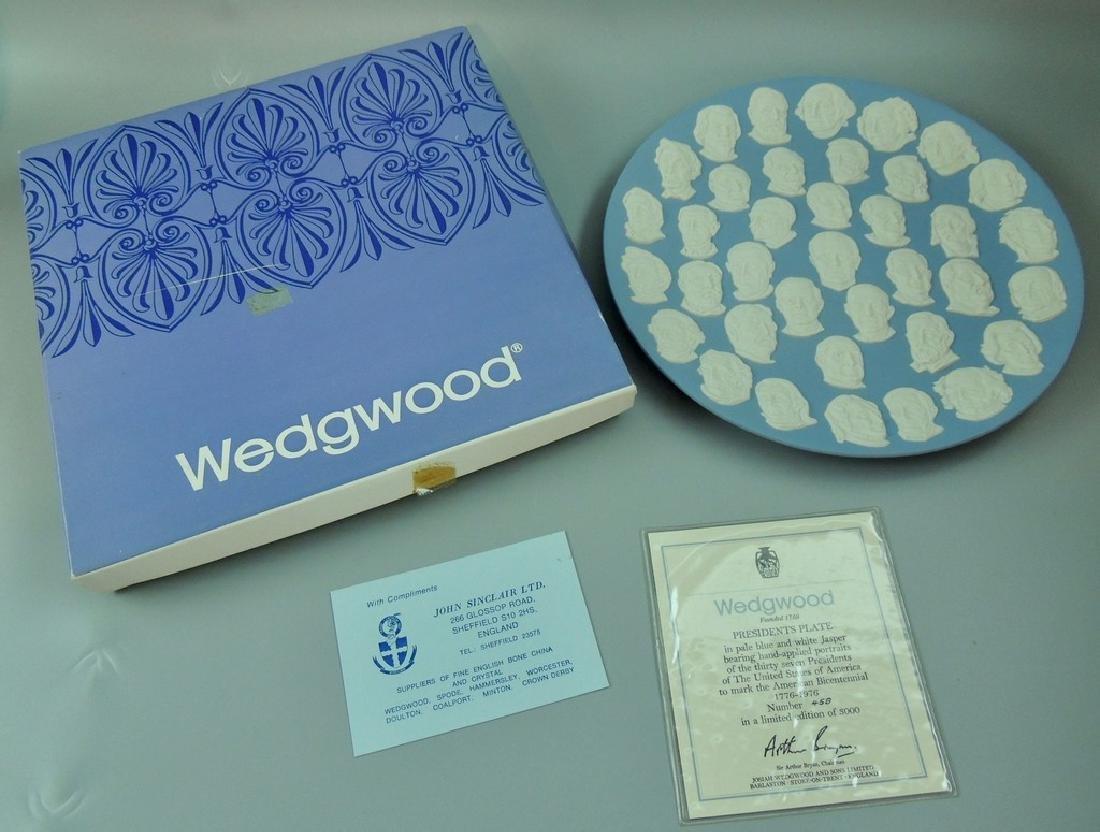 Wedgwood Jasperware Presidents Collector Plate 1976 - 2