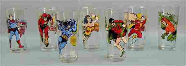 DC Comics & Pepsi Collectible Tumblers, Mint