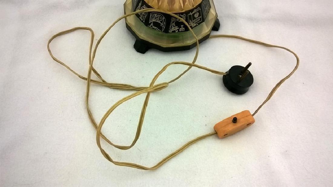 Vintage Night Lamp Rocket - 3
