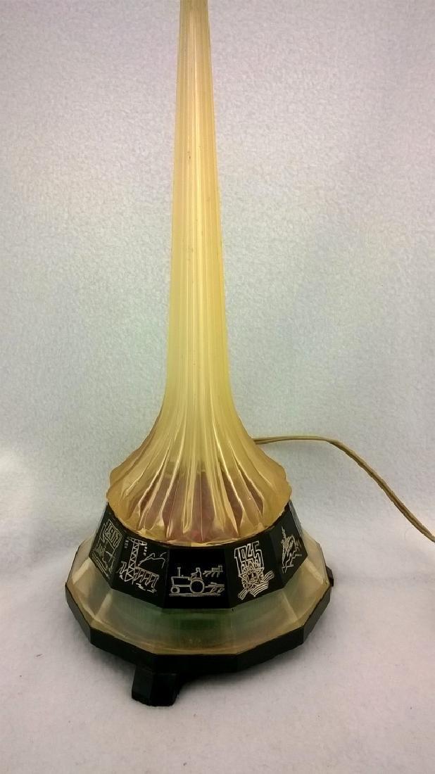 Vintage Night Lamp Rocket - 5