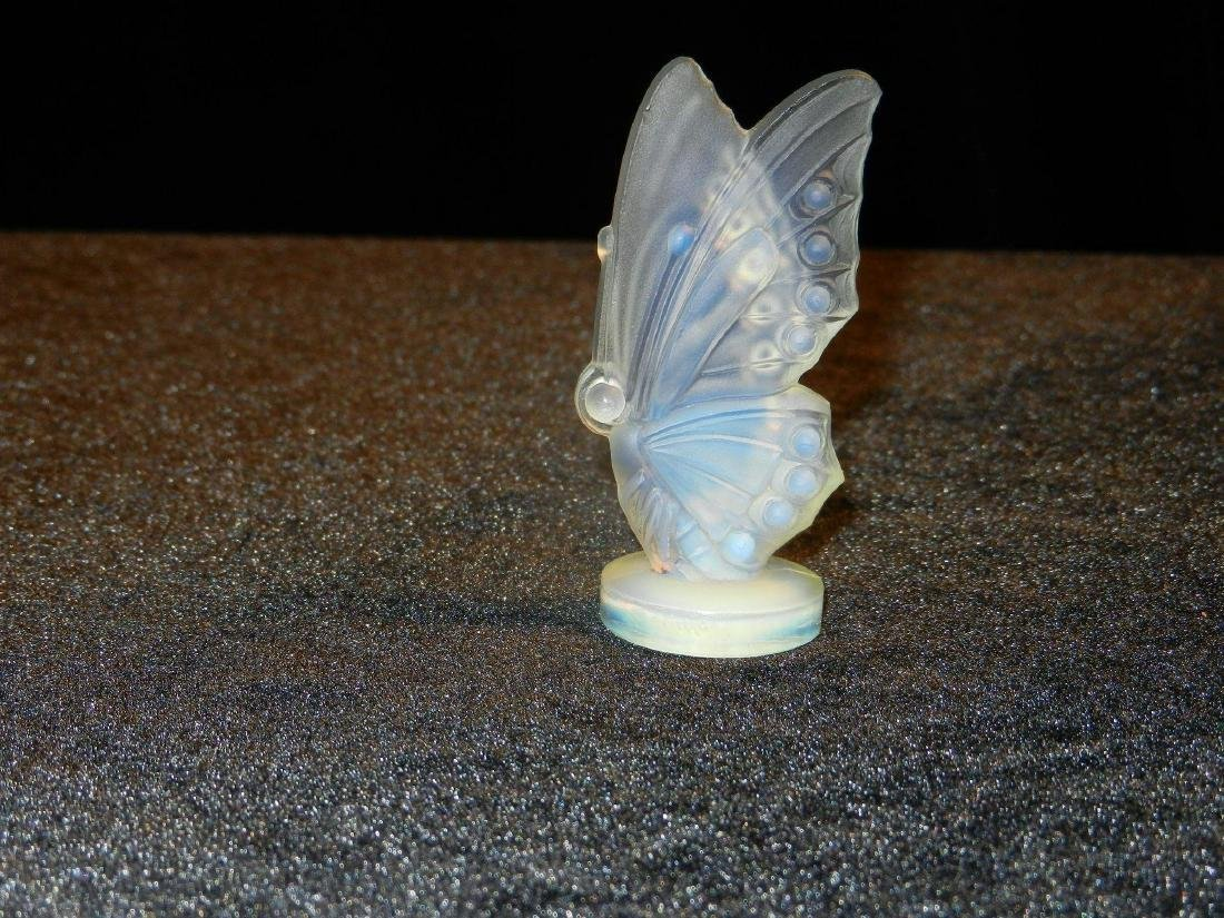 Vintage Sabino Art Glass Opalescent Winged Butterfly - 2