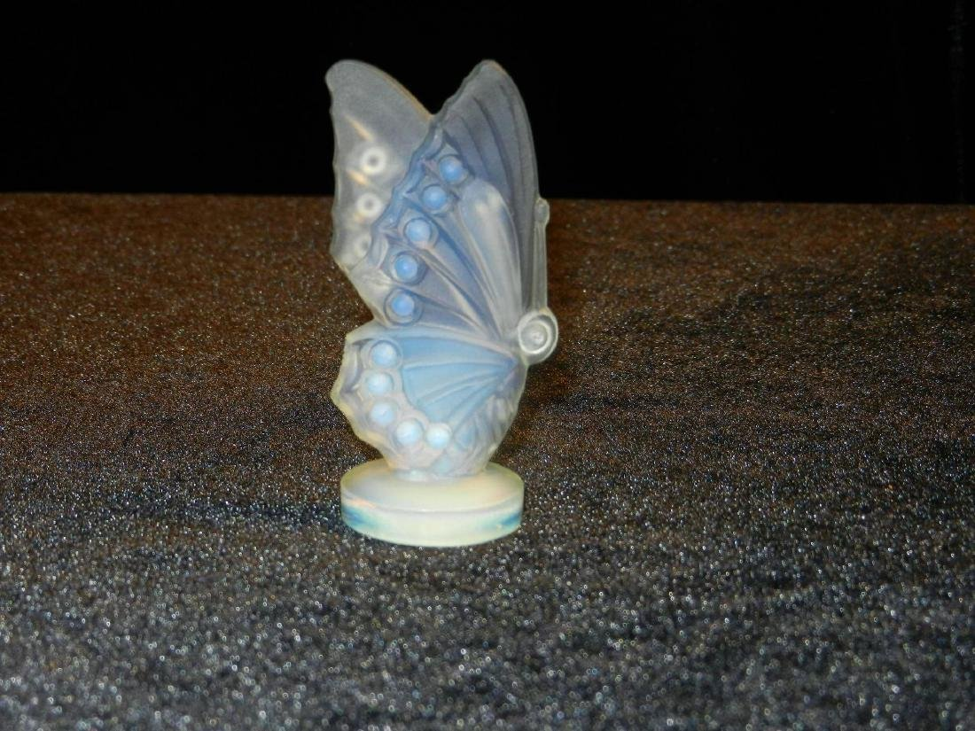 Vintage Sabino Art Glass Opalescent Winged Butterfly - 6