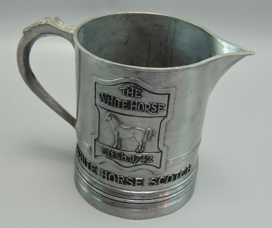 The White Horse Scotch Pewter Pitcher - 5