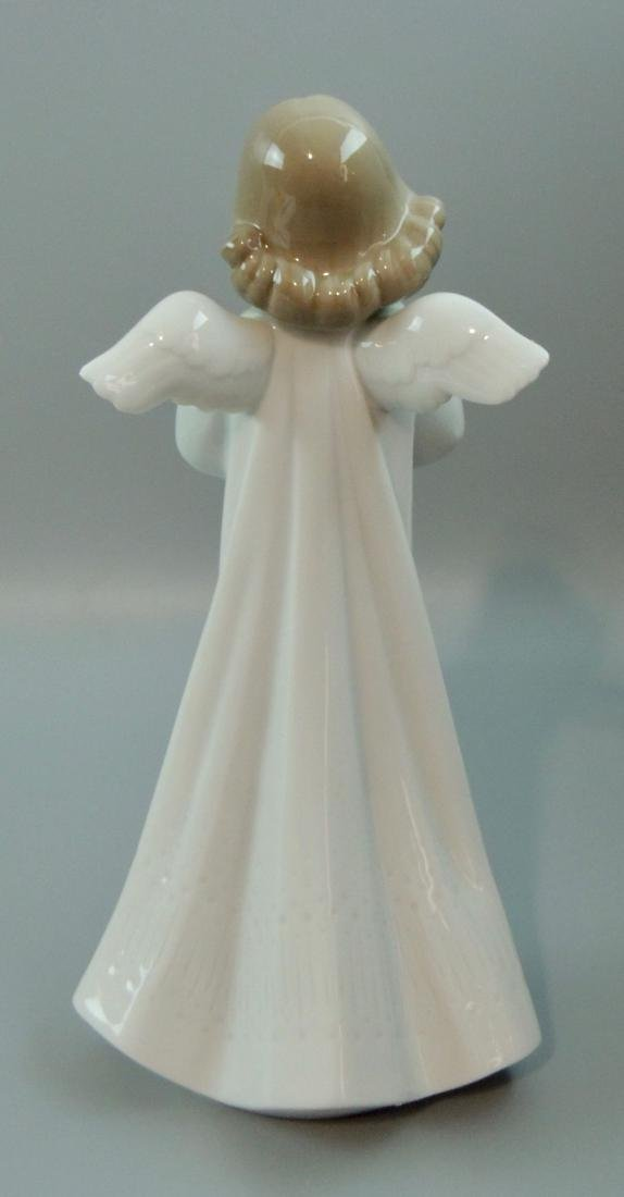 "Llado Porcelain ""An Angel's Wish"" #6788, Retired w/ Box - 4"