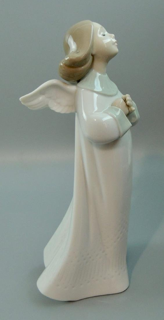 "Llado Porcelain ""An Angel's Wish"" #6788, Retired w/ Box - 5"