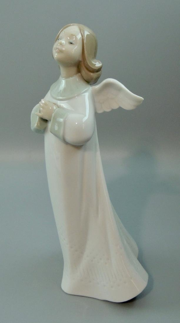 "Llado Porcelain ""An Angel's Wish"" #6788, Retired w/ Box - 6"
