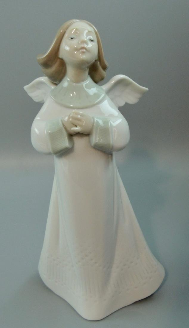 "Llado Porcelain ""An Angel's Wish"" #6788, Retired w/ Box - 7"