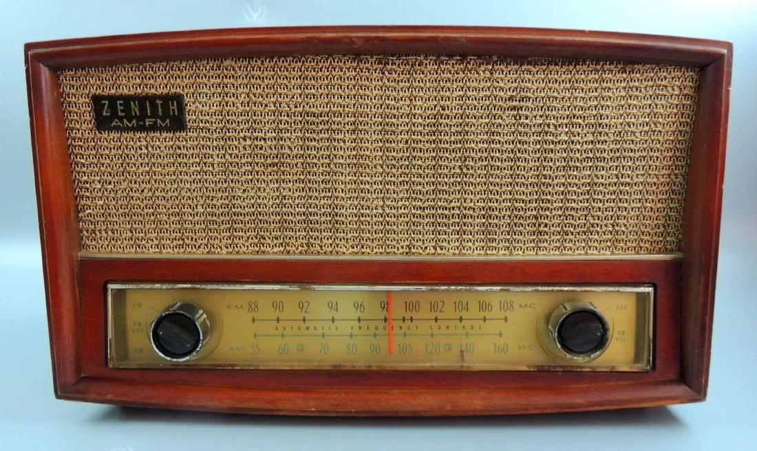 Zenith Long Distance AM/FM Tube Radio, M- G730, 1950's