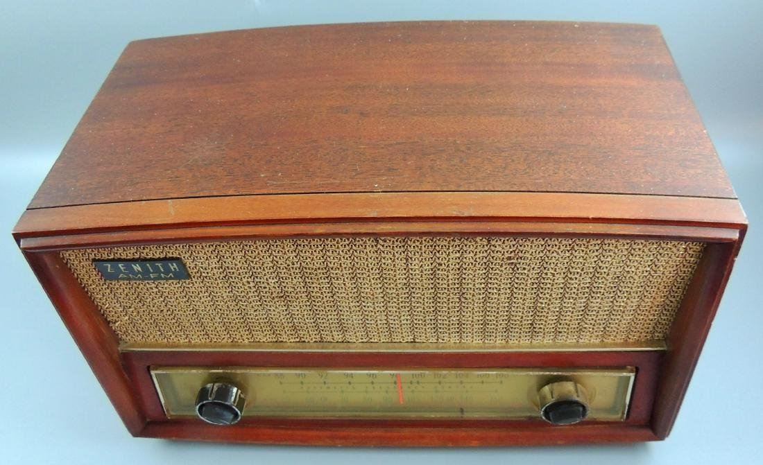 Zenith Long Distance AM/FM Tube Radio, M- G730, 1950's - 4