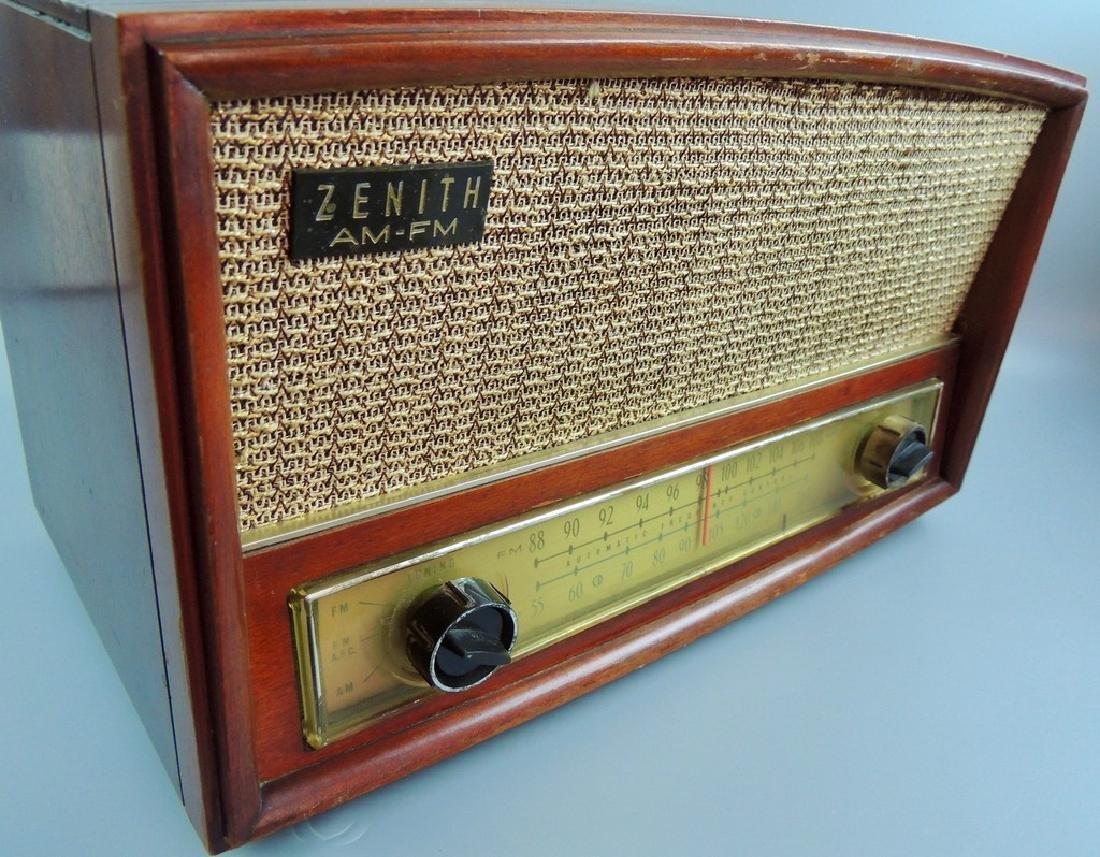 Zenith Long Distance AM/FM Tube Radio, M- G730, 1950's - 6