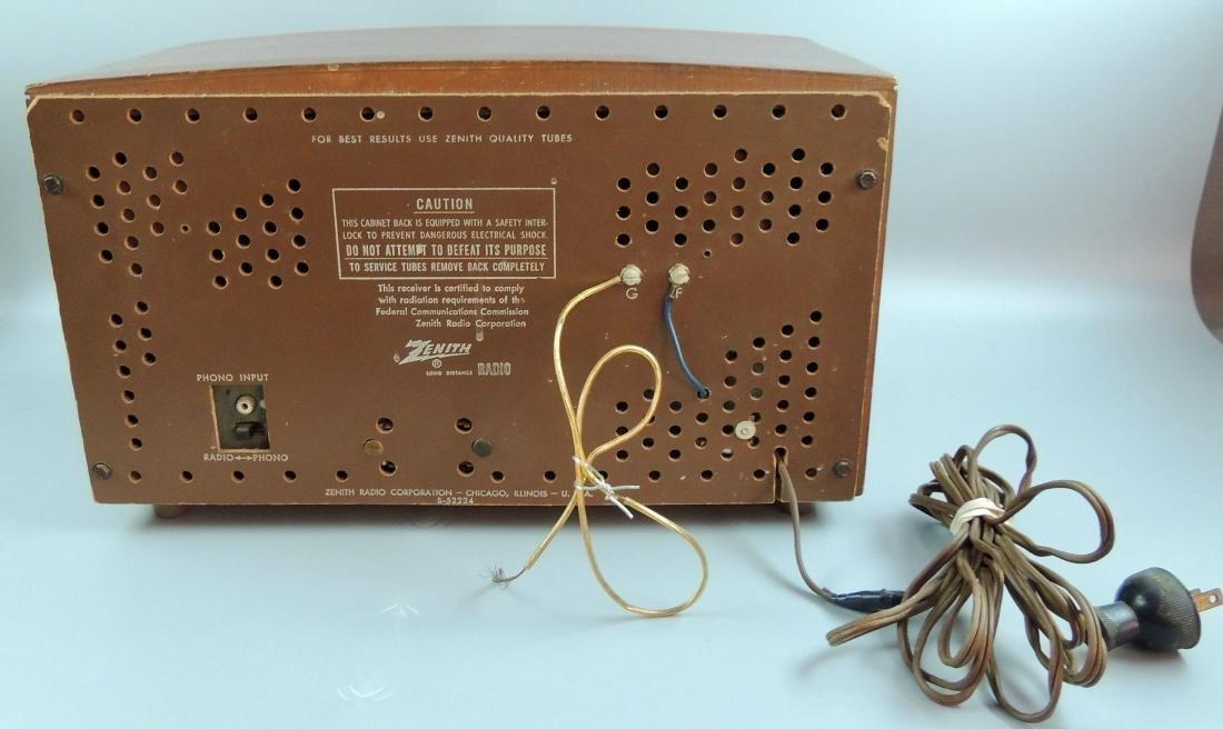 Zenith Long Distance AM/FM Tube Radio, M- G730, 1950's - 7