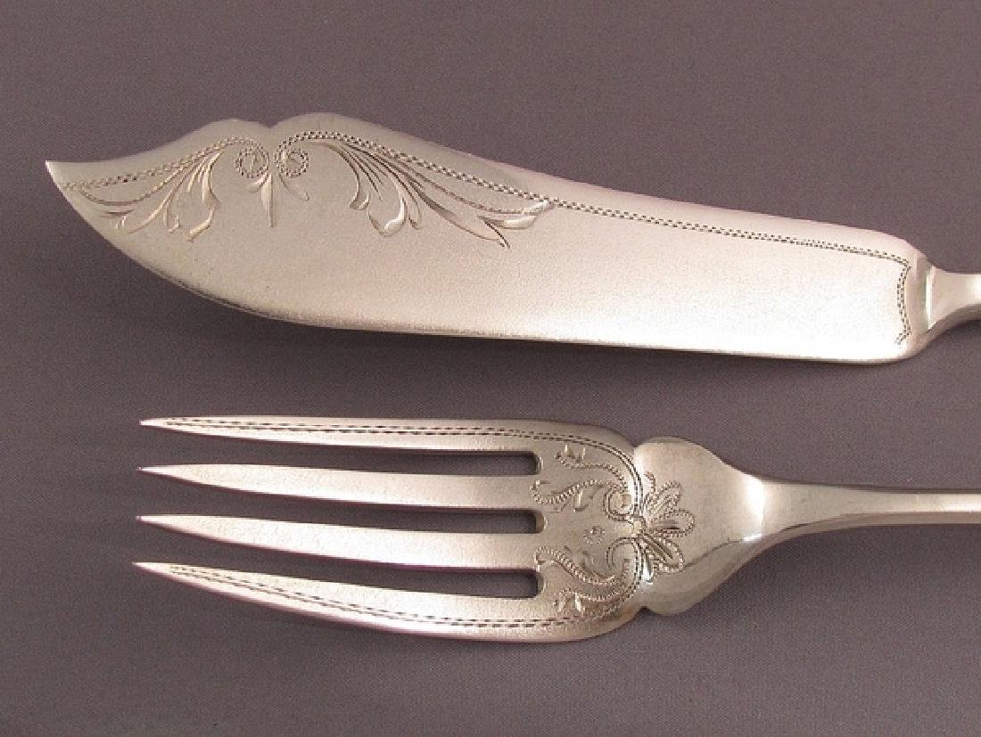 Austrian Silver Fish Set - 3