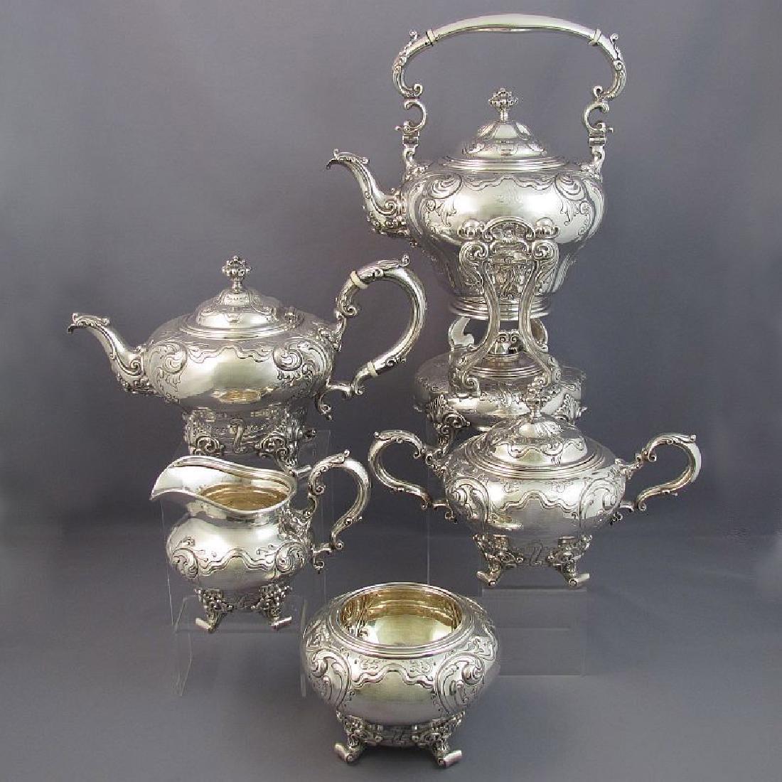 Birks Sterling Silver Tea Service
