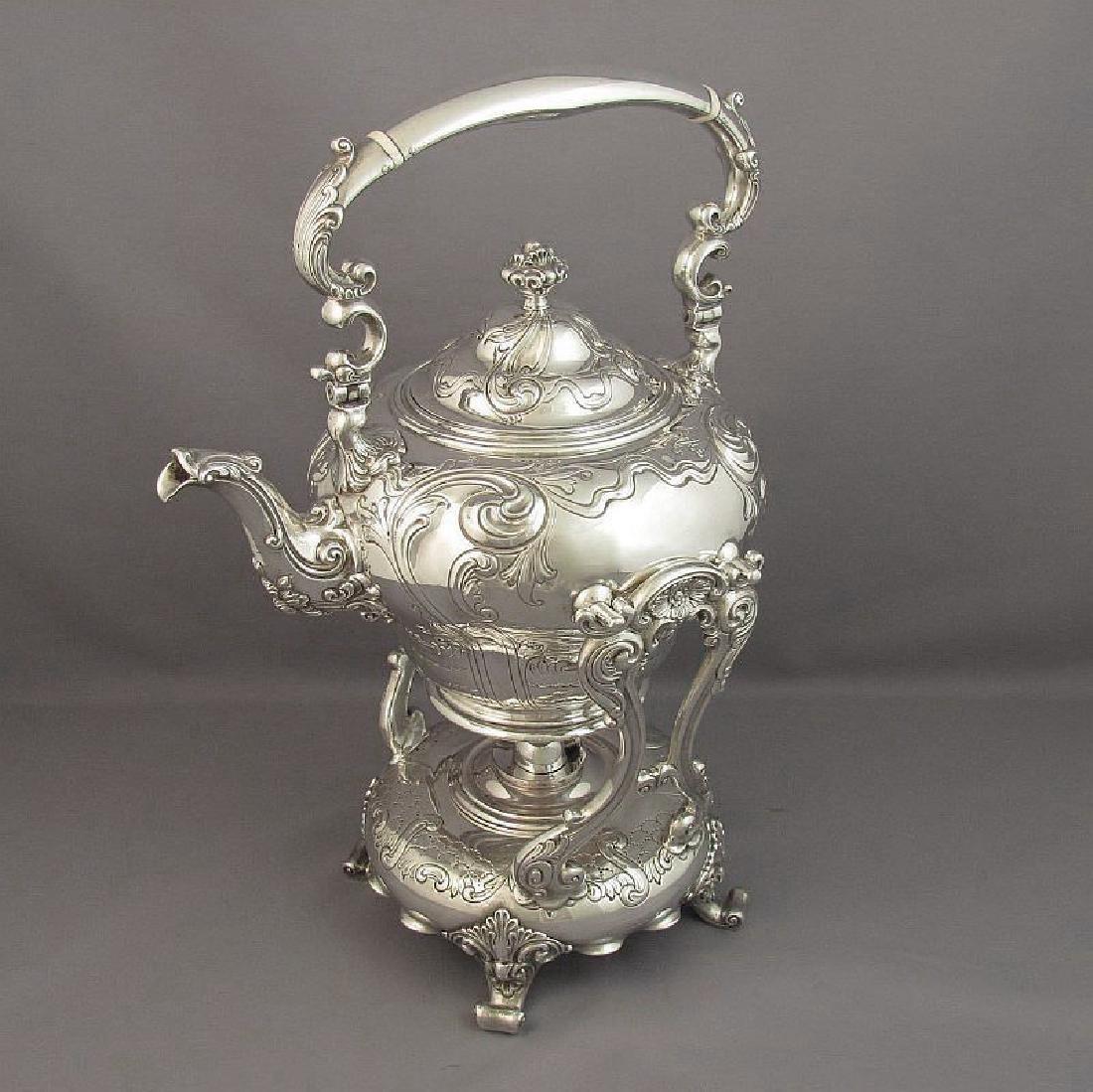 Birks Sterling Silver Tea Service - 5