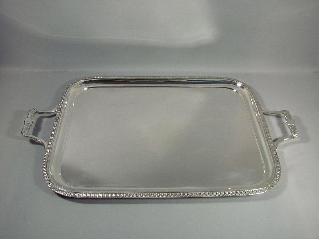 English Sterling Silver Tea Tray