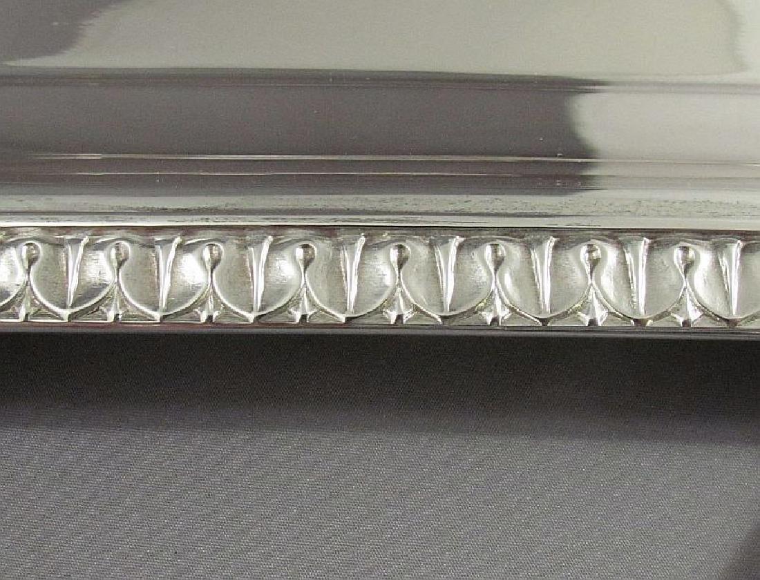 English Sterling Silver Tea Tray - 3