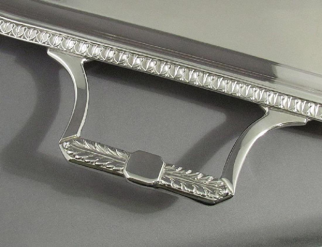 English Sterling Silver Tea Tray - 4