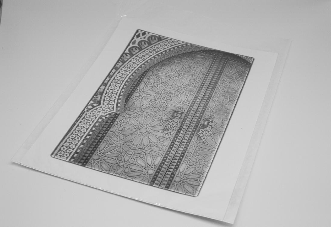Paul Cooklin (1971-) AP 1/5 - 'Ornate Doors, The Royal - 9