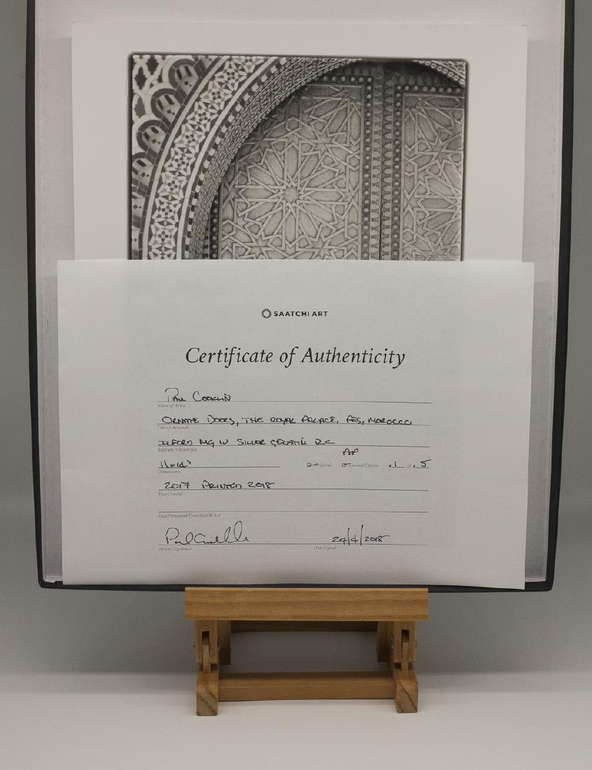 Paul Cooklin (1971-) AP 1/5 - 'Ornate Doors, The Royal - 7