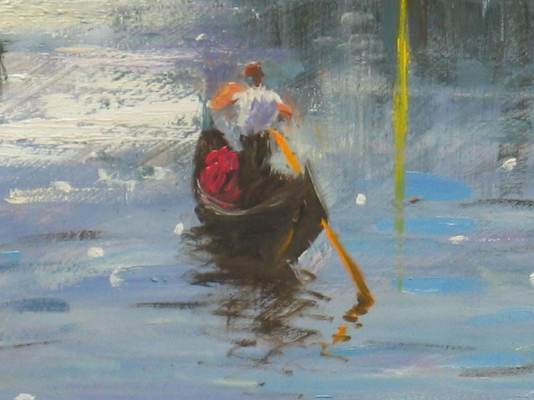 Nino Pippa Painting Venice Twilight on the Grand Canal - 2