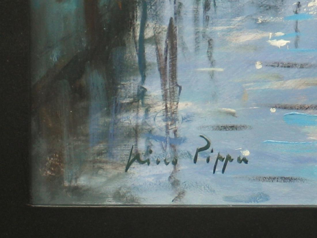 Nino Pippa Painting Venice Twilight on the Grand Canal - 3