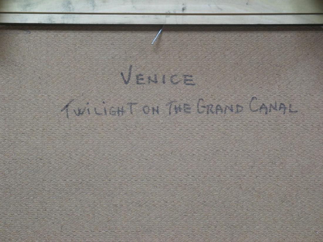 Nino Pippa Painting Venice Twilight on the Grand Canal - 4
