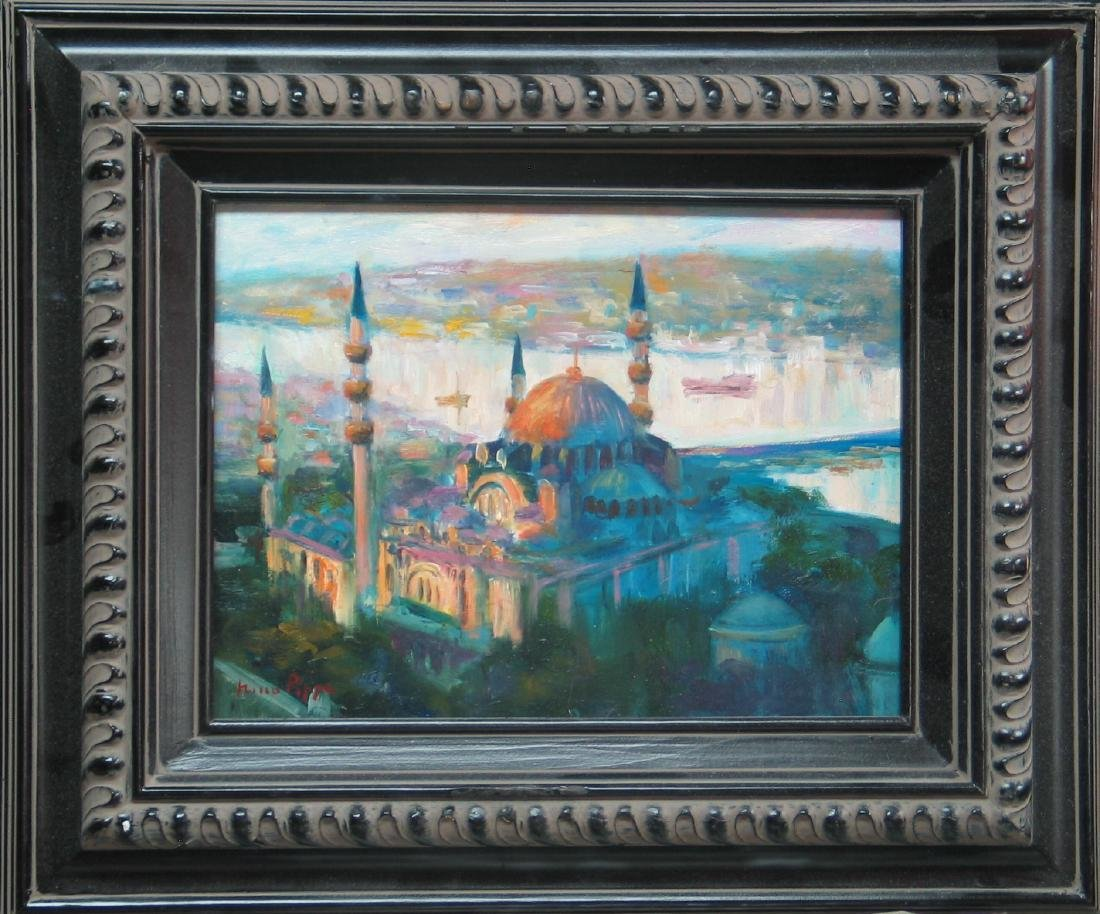 Nino Pippa Istanbul Painting of Suleymanyie Mosque