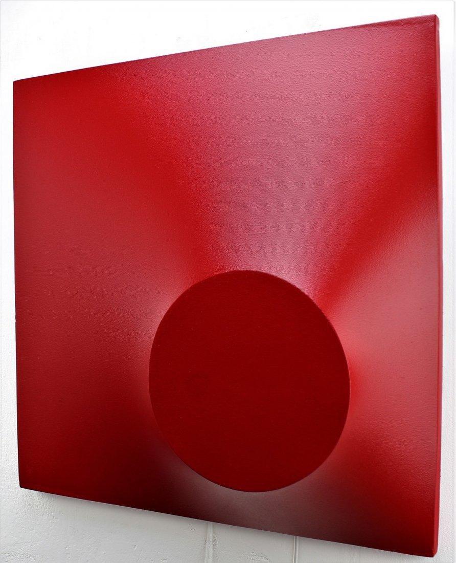 Alessandro Butera Painting Dark Red - 10