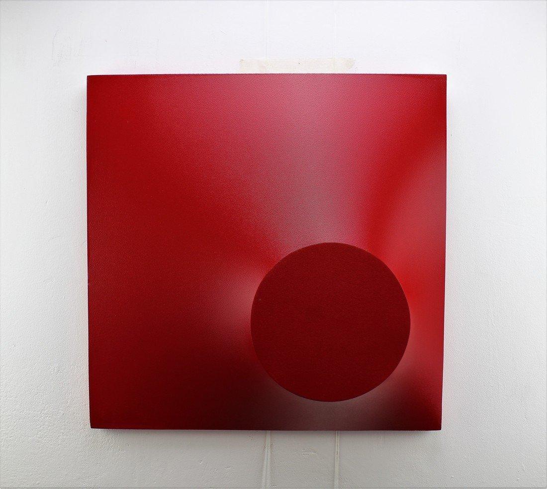 Alessandro Butera Painting Dark Red