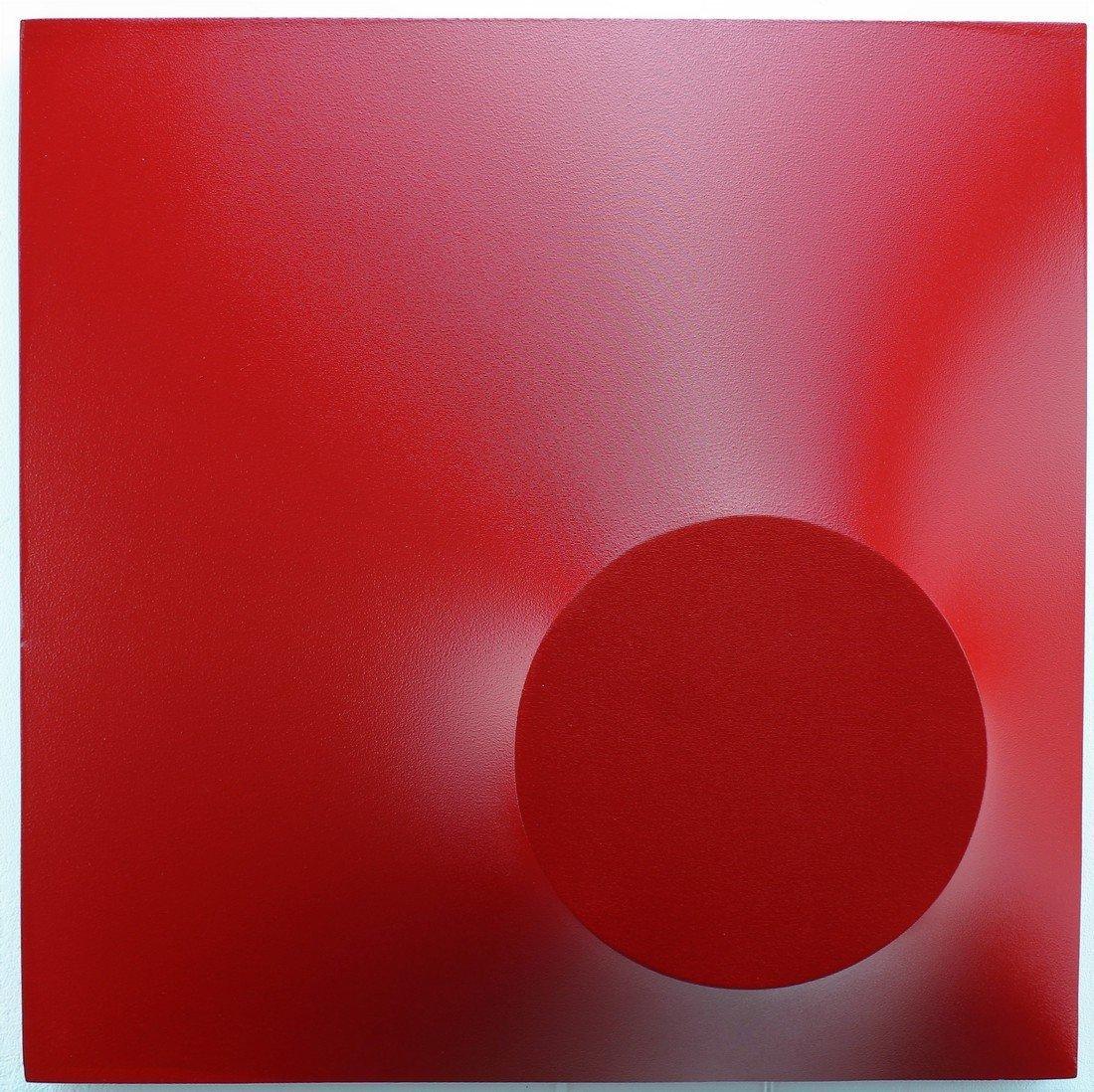 Alessandro Butera Painting Dark Red - 2