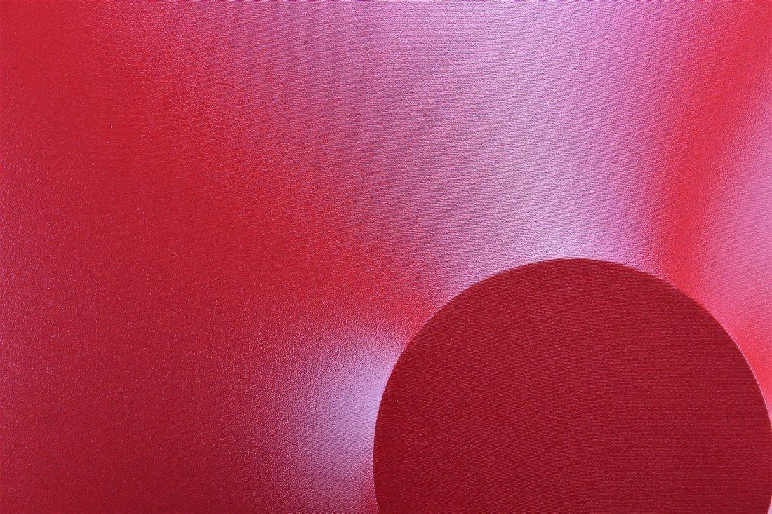 Alessandro Butera Painting Dark Red - 4