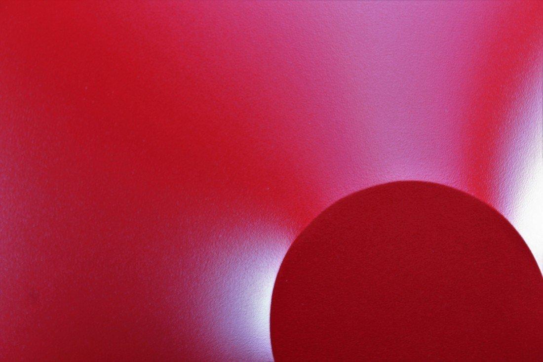 Alessandro Butera Painting Dark Red - 5