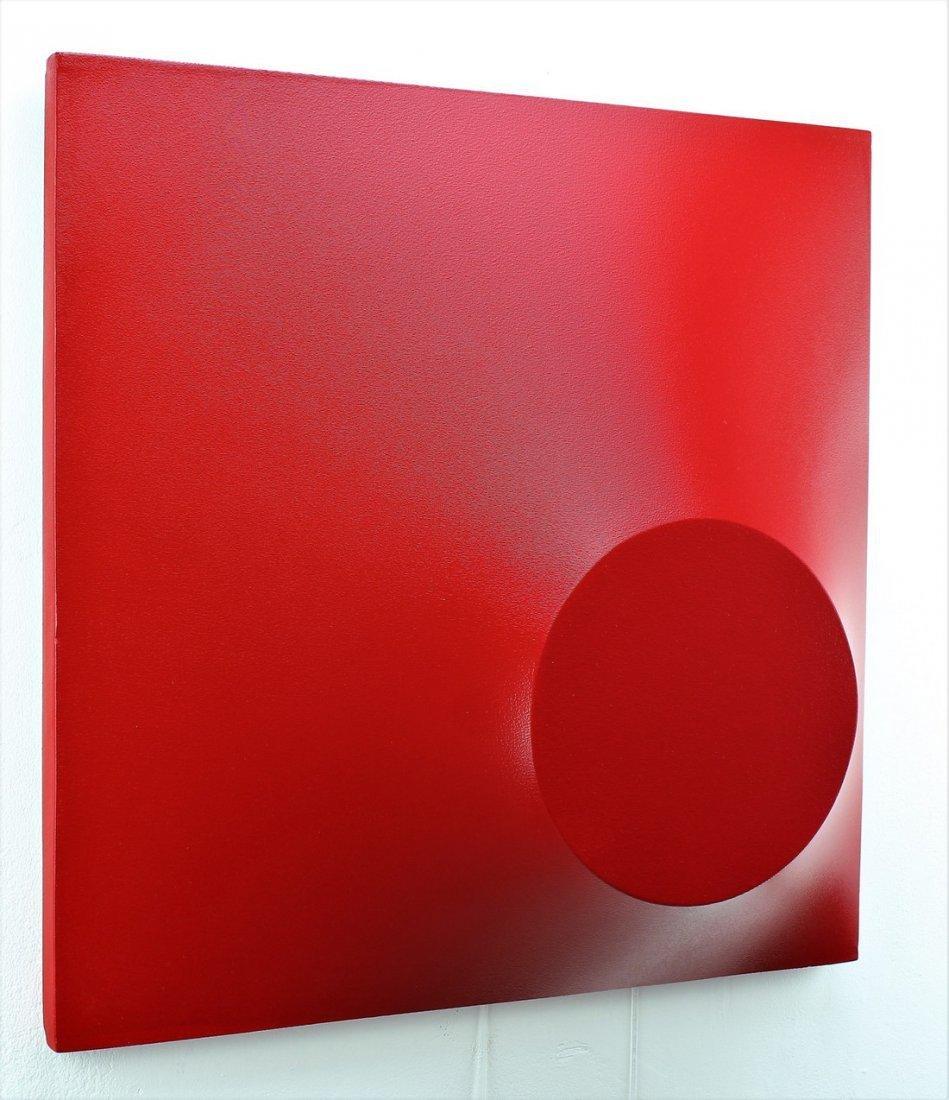 Alessandro Butera Painting Dark Red - 7