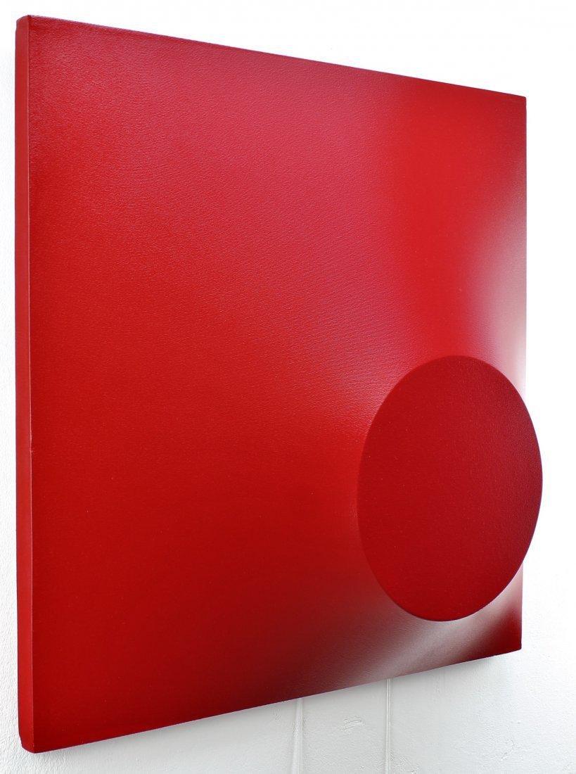 Alessandro Butera Painting Dark Red - 8
