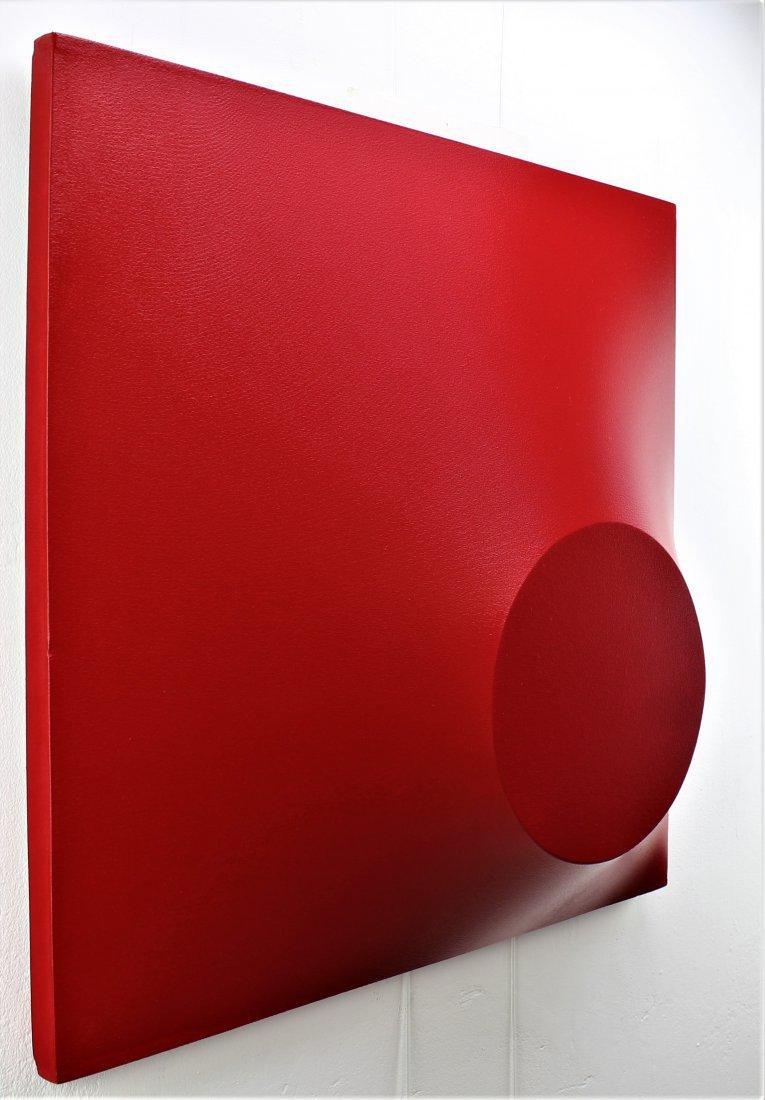 Alessandro Butera Painting Dark Red - 9