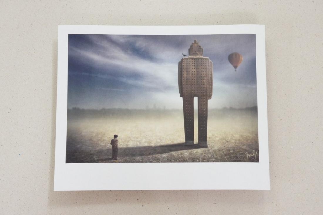 Ben Goossens Print Footsteps of Magritte Folio - 2