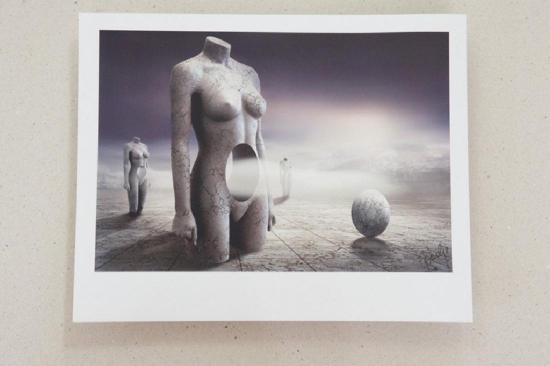 Ben Goossens Print Footsteps of Magritte Folio - 3