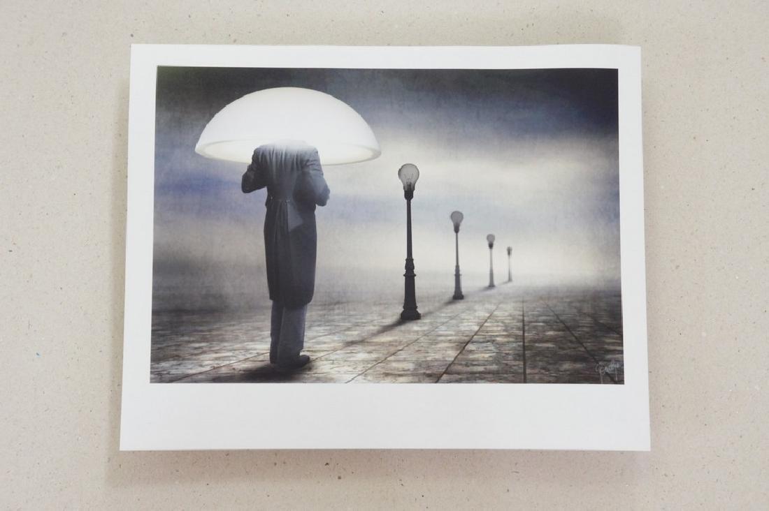Ben Goossens Print Footsteps of Magritte Folio - 6