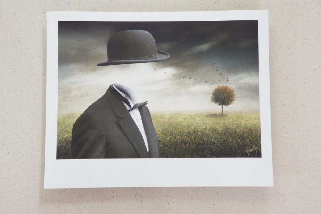 Ben Goossens Print Footsteps of Magritte Folio - 7