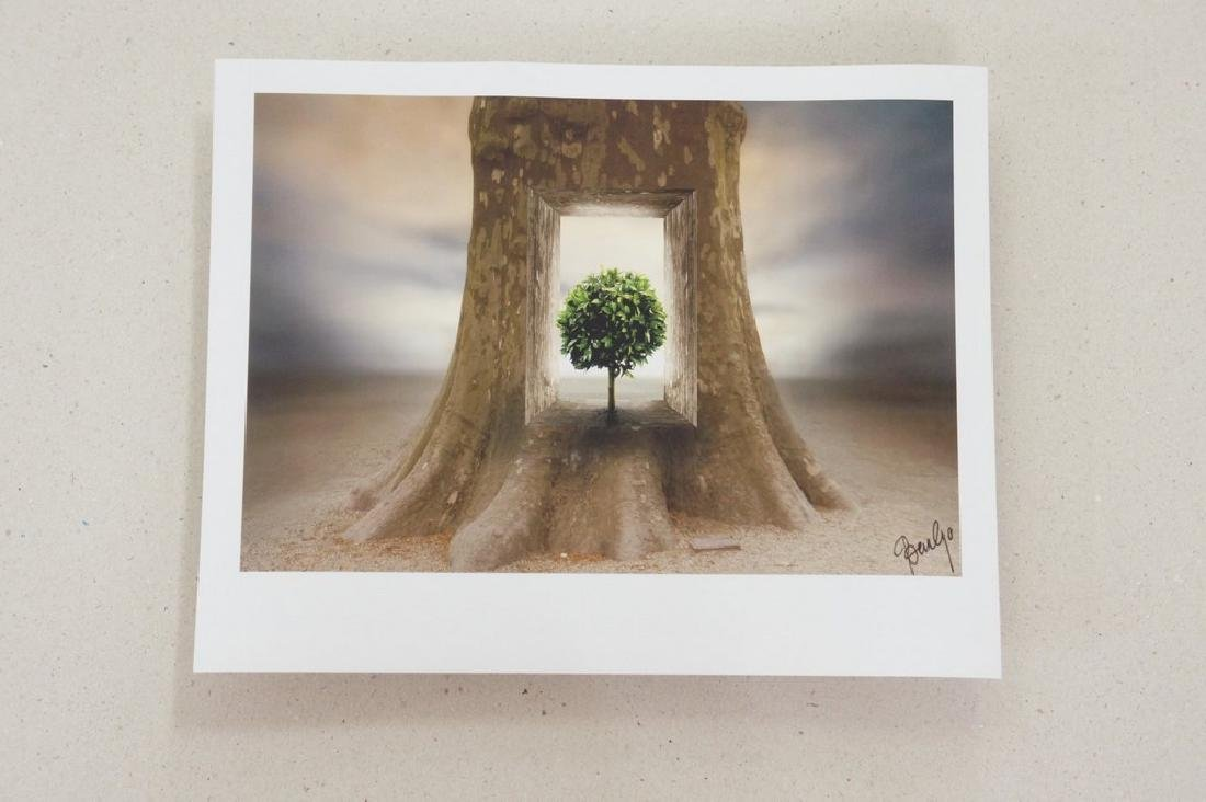 Ben Goossens Print Footsteps of Magritte Folio - 9