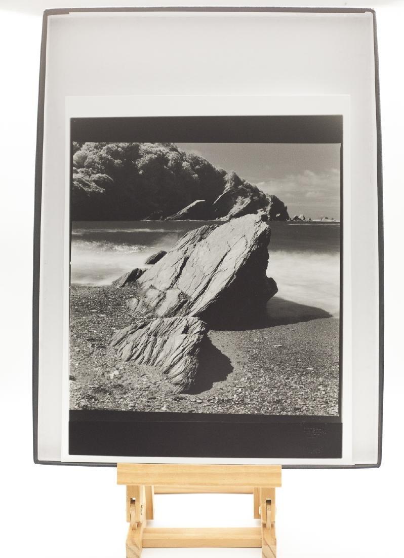 Paul Cooklin (1971- ) AP 3/5 - 'Rocks, Hele Bay, North