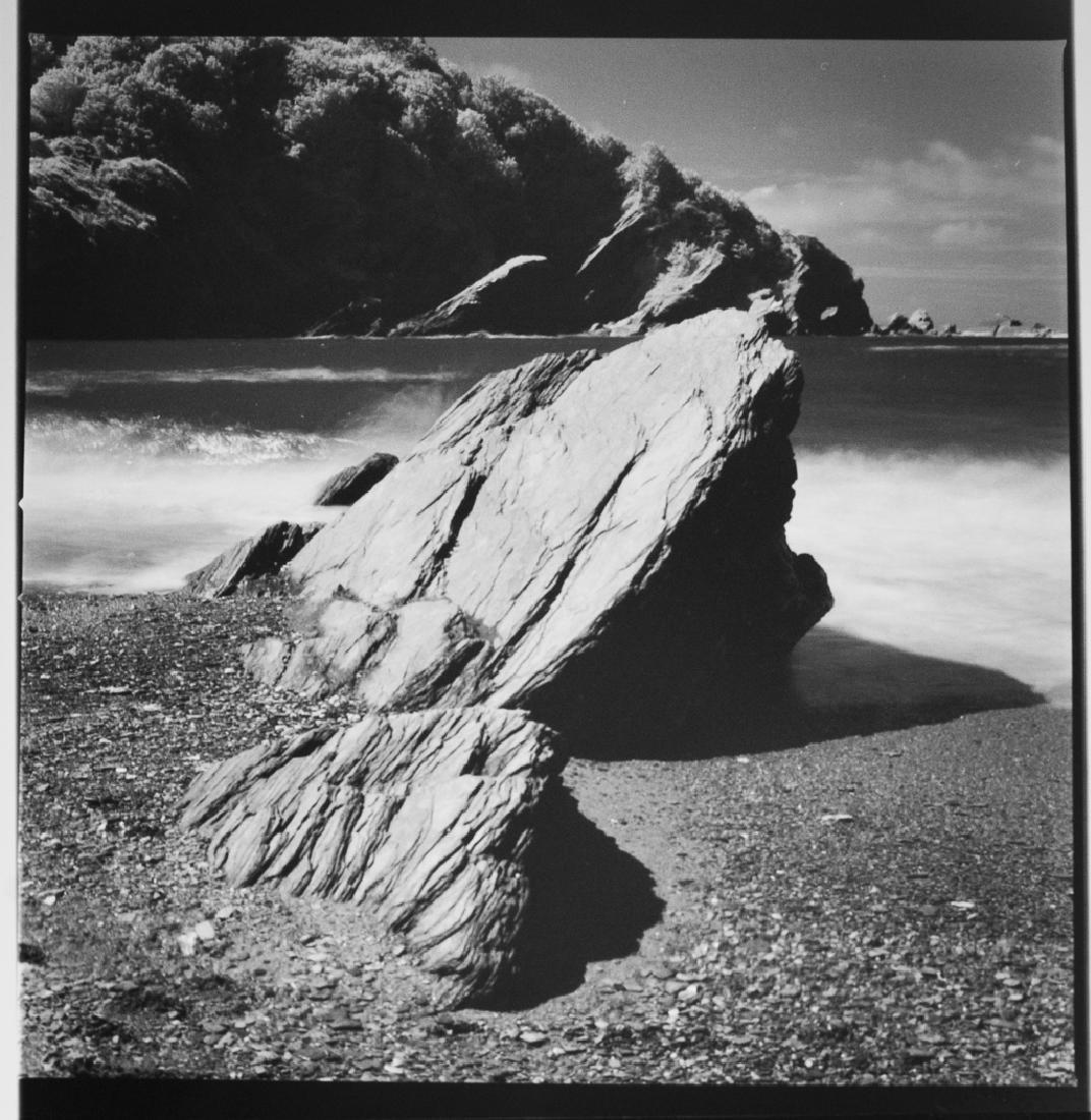 Paul Cooklin (1971- ) AP 3/5 - 'Rocks, Hele Bay, North - 2