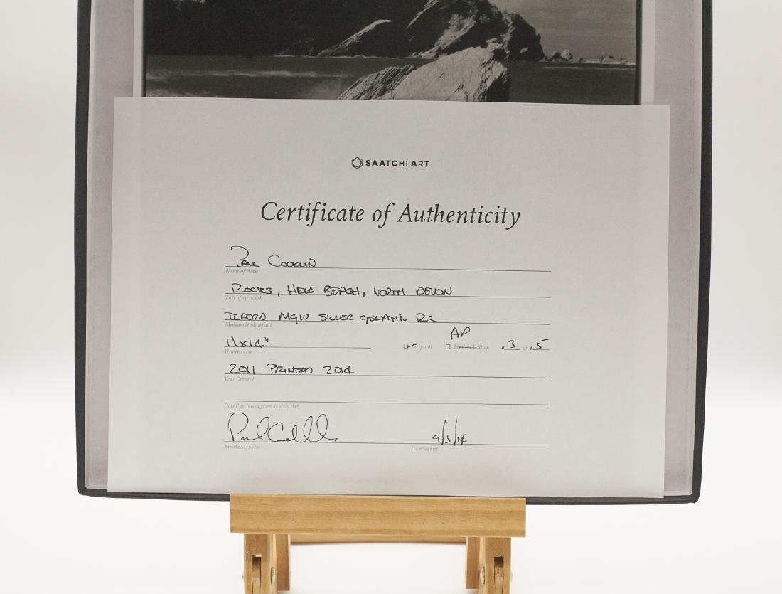 Paul Cooklin (1971- ) AP 3/5 - 'Rocks, Hele Bay, North - 6