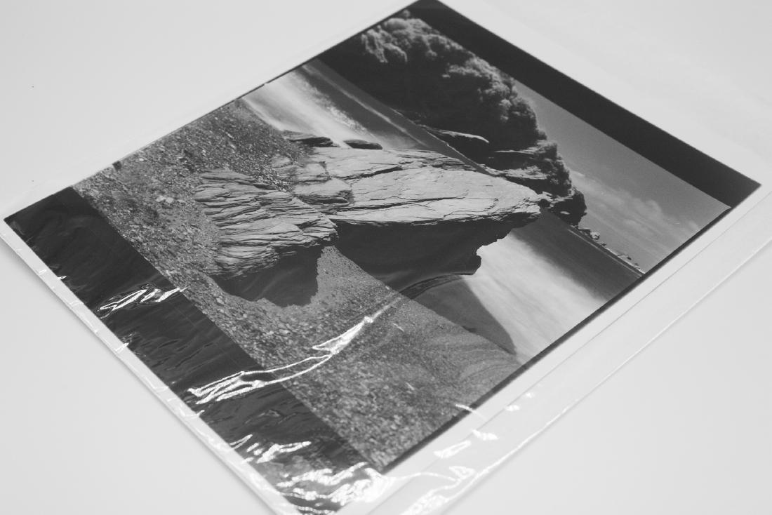 Paul Cooklin (1971- ) AP 3/5 - 'Rocks, Hele Bay, North - 8