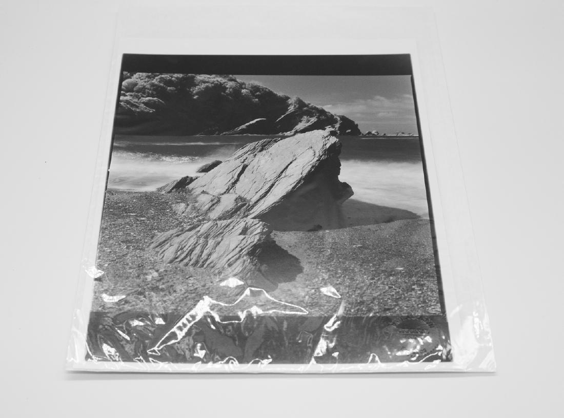 Paul Cooklin (1971- ) AP 3/5 - 'Rocks, Hele Bay, North - 9