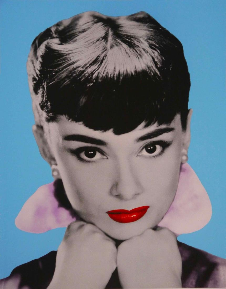 David Studwell Print Audrey Hepburn I