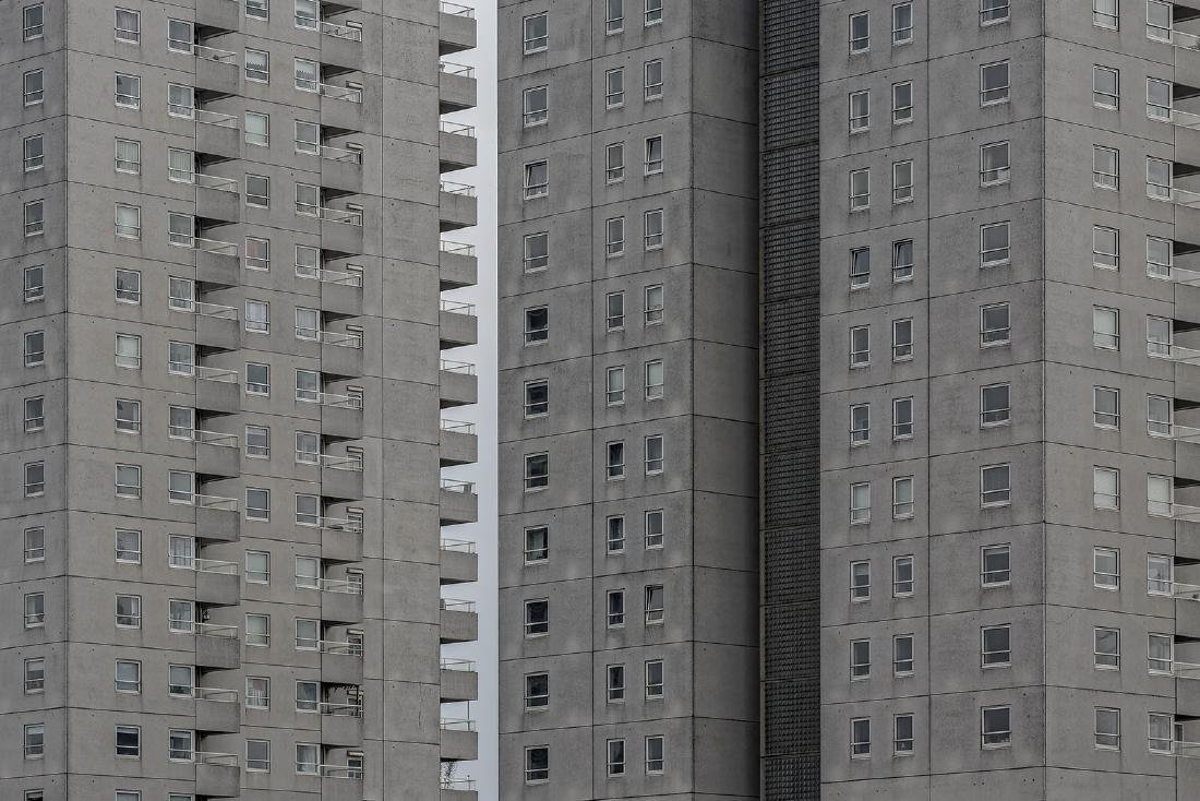 Chris Fraikin Photograph Appartments Building I