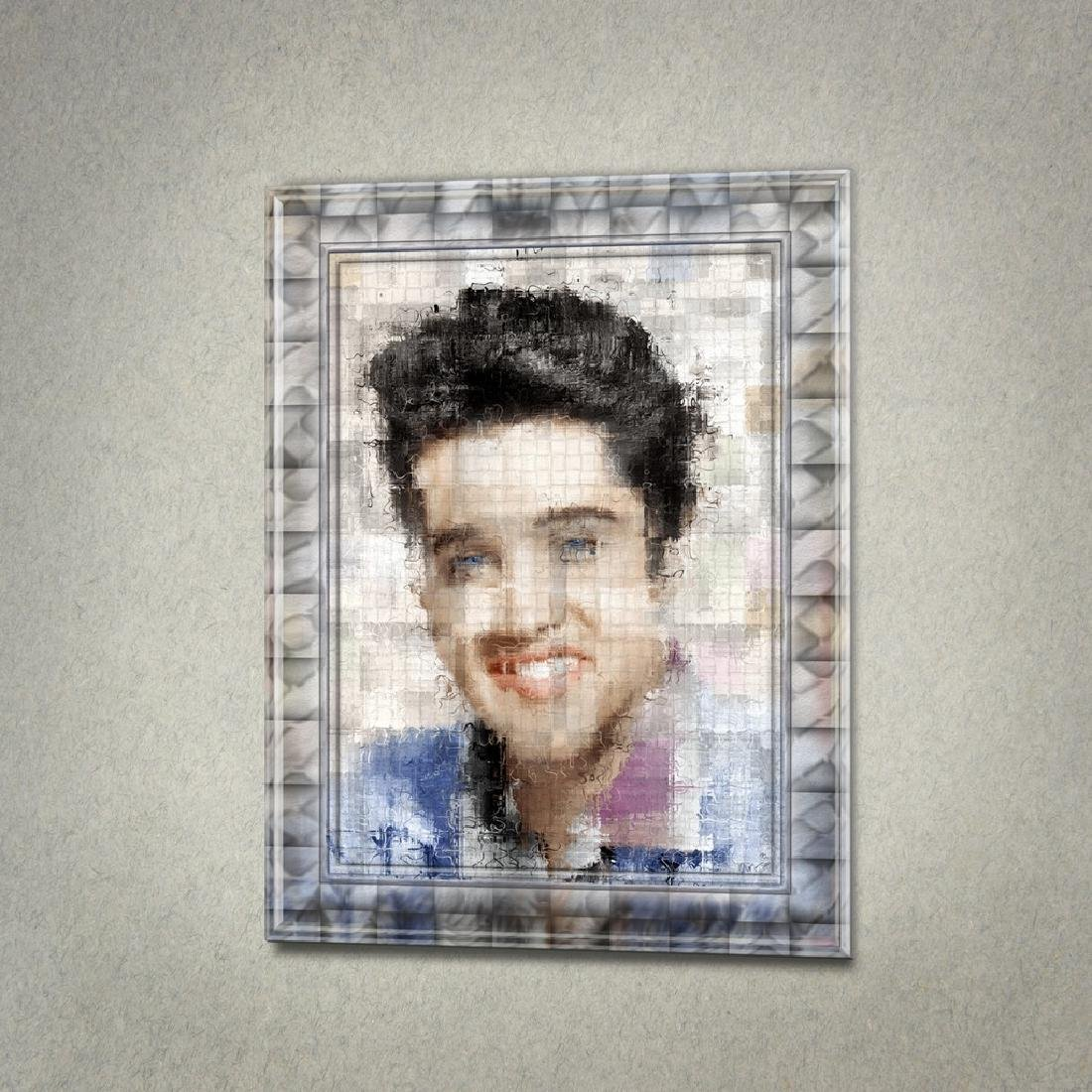 ART GRAFTS Print Elvis, Refraction #4