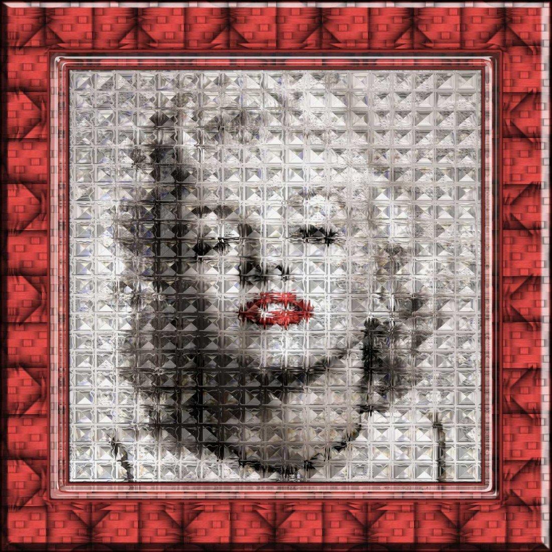 ART GRAFTS Print Marilyn, Refraction #1
