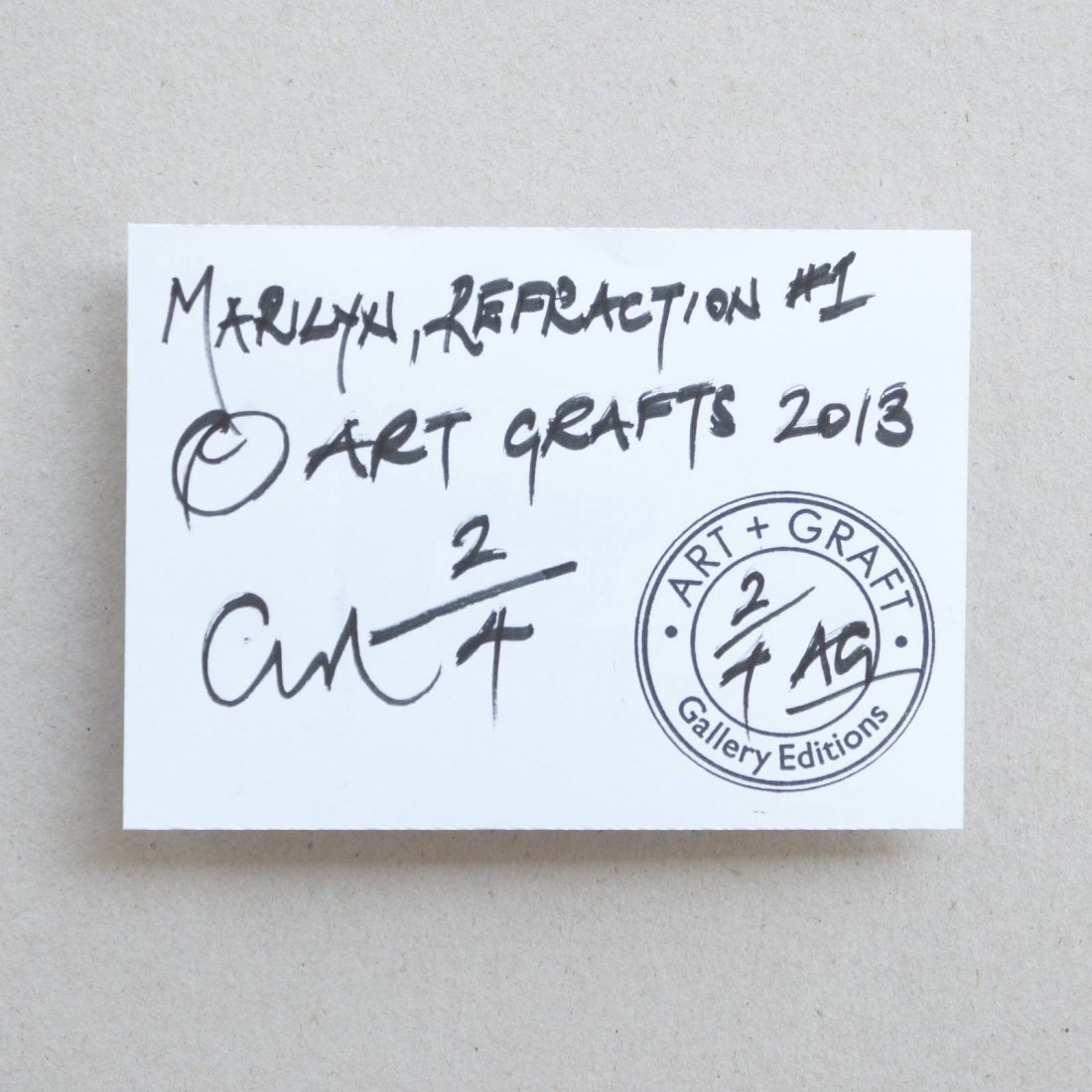ART GRAFTS Print Marilyn, Refraction #1 - 7